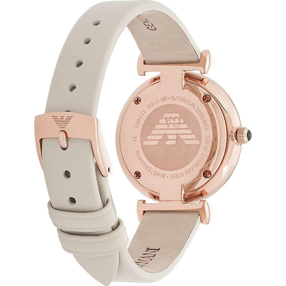 Emporio Armani AR1769 Ladies Rose Gold Tone Watch