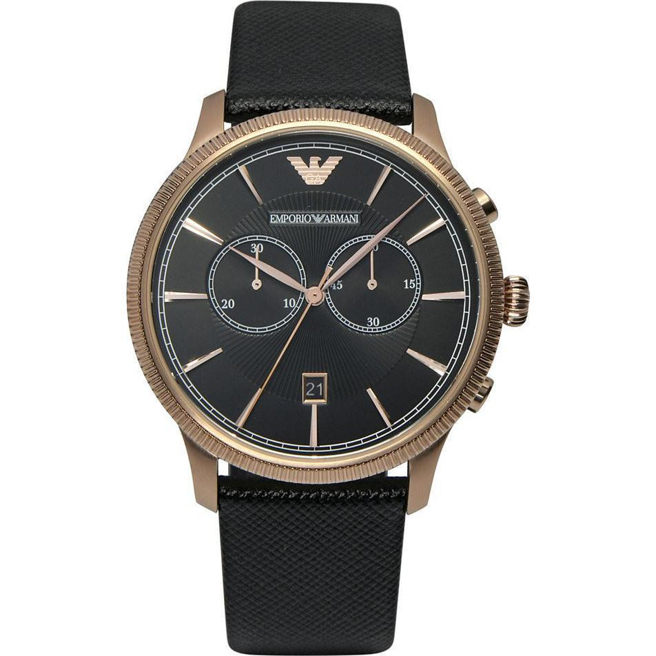 Emporio Armani AR1792 Men's Classic Alpha Chronograph Watch - TheWatchCabin - 1