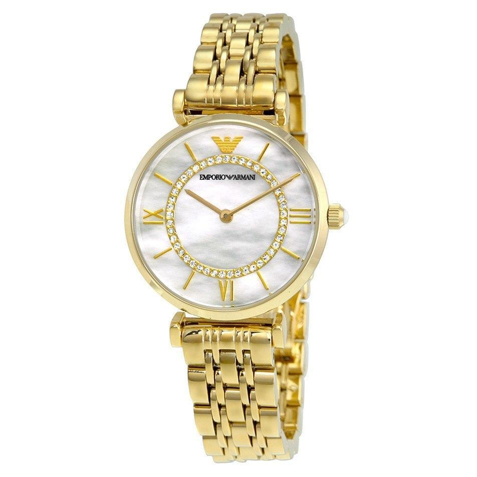 Emporio Armani AR1907 Ladies Gianni T-Bar Watch - TheWatchCabin - 1