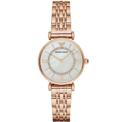 Emporio Armani AR1909 Ladies Gianni T-Bar Watch