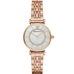 Emporio Armani AR1909 Ladies Gianni T-Bar Watch - TheWatchCabin - 1