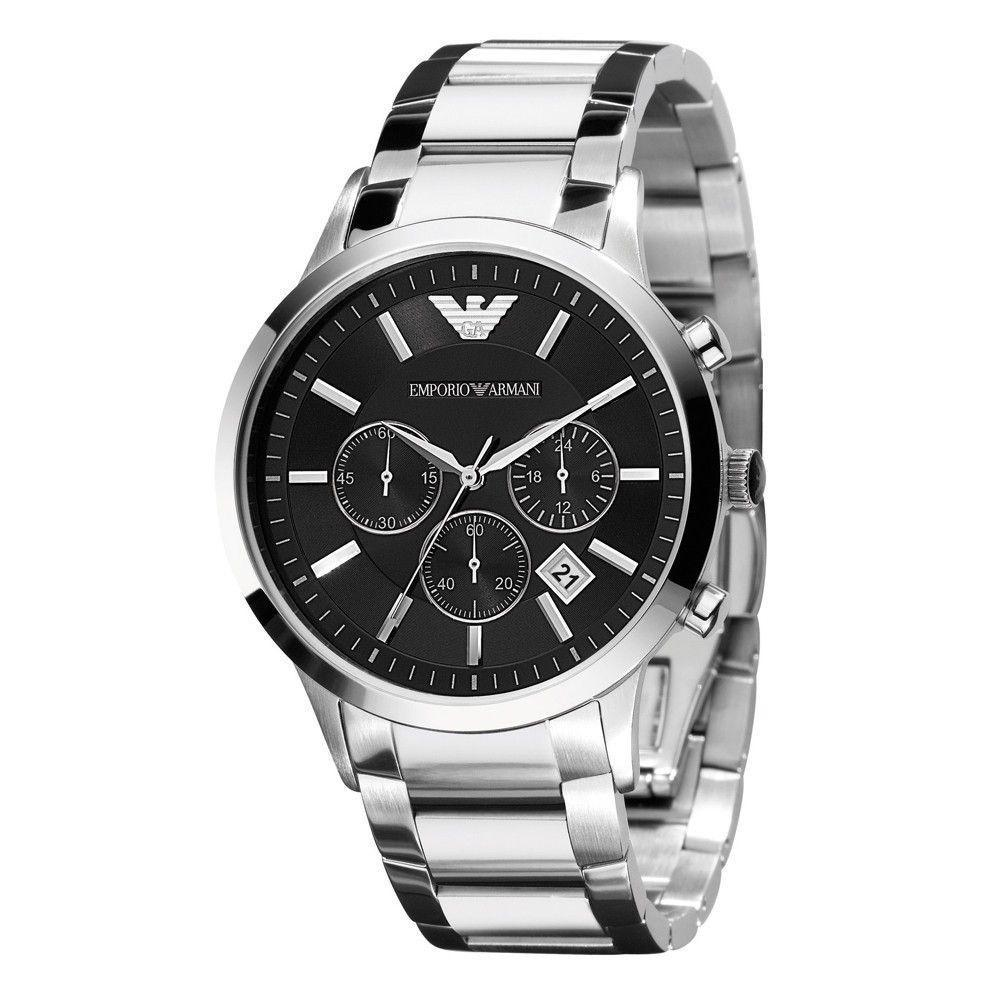Emporio Armani AR2434 Renato Mens Chronograph Watch