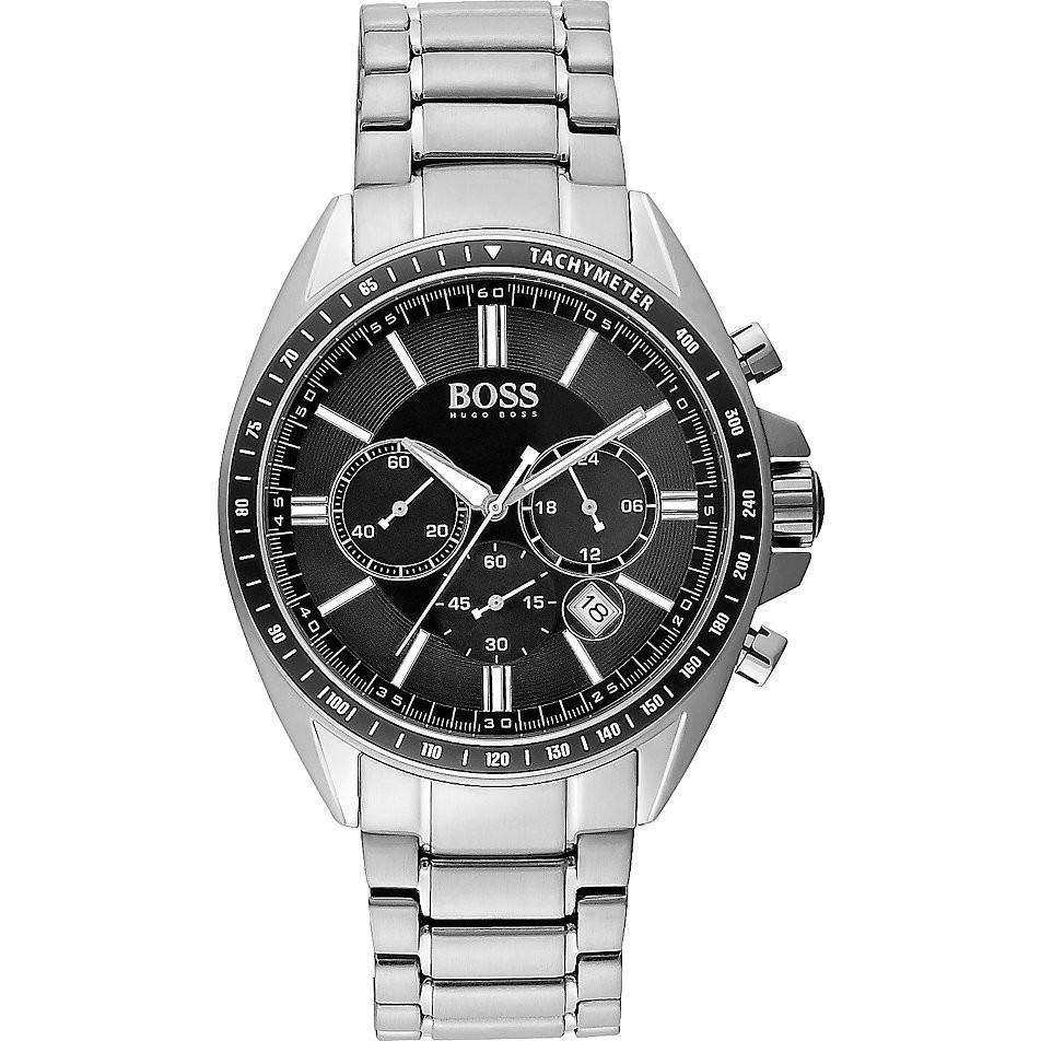 Buy hugo boss 1513080 men 39 s driver chronograph watch online the watch cabin for Hugo boss watches