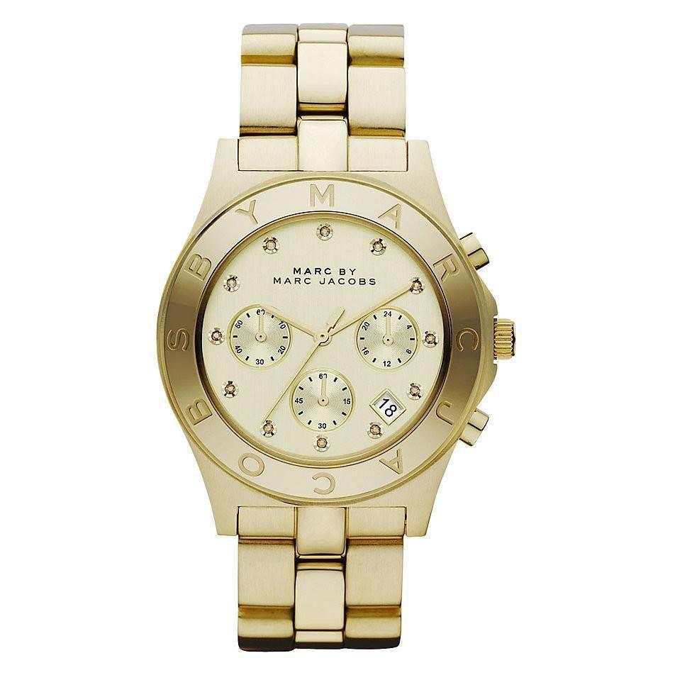 Marc By Marc Jacobs MBM3101 Ladies Blade Chronograph Watch