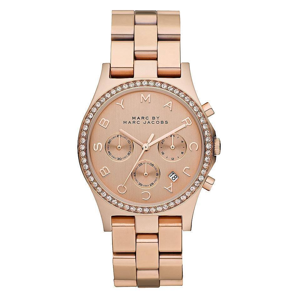 Marc Jacobs MBM3118 Ladies Henry Chronograph Watch - TheWatchCabin - 1
