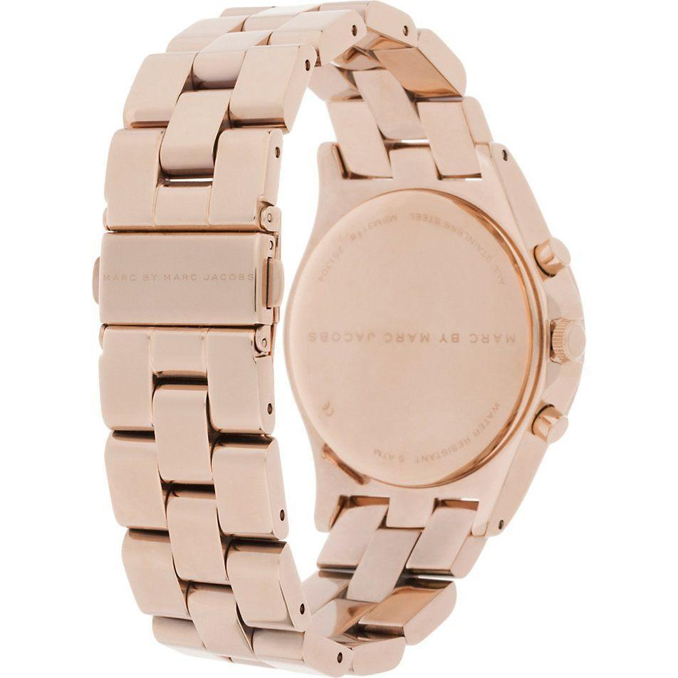Marc Jacobs MBM3118 Ladies Henry Chronograph Watch - TheWatchCabin - 2