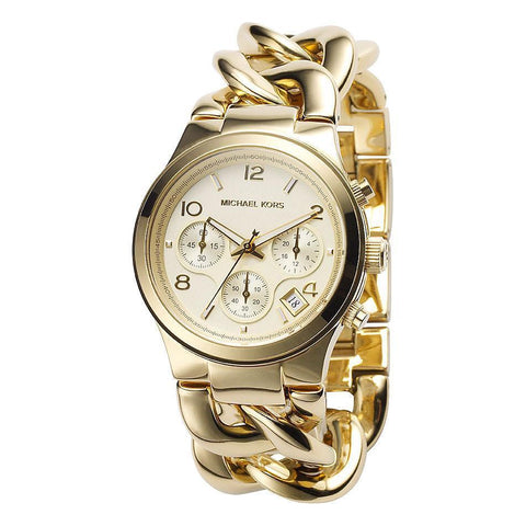 Michael Kors MK3131 Ladies Runway Chronograph Twist - TheWatchCabin - 1