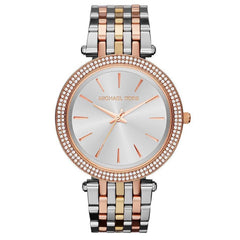 Michael Kors MK3203 Ladies Darci Tri-Colour Crystal Watch