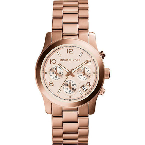 Michael Kors MK5128 Ladies Runway Chronograph Watch - TheWatchCabin - 1