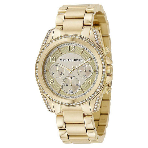 Michael Kors MK5166 Ladies Blair Chronograph - TheWatchCabin - 1