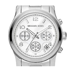 Michael Kors MK5304 Ladies Silver Chronograph Watch