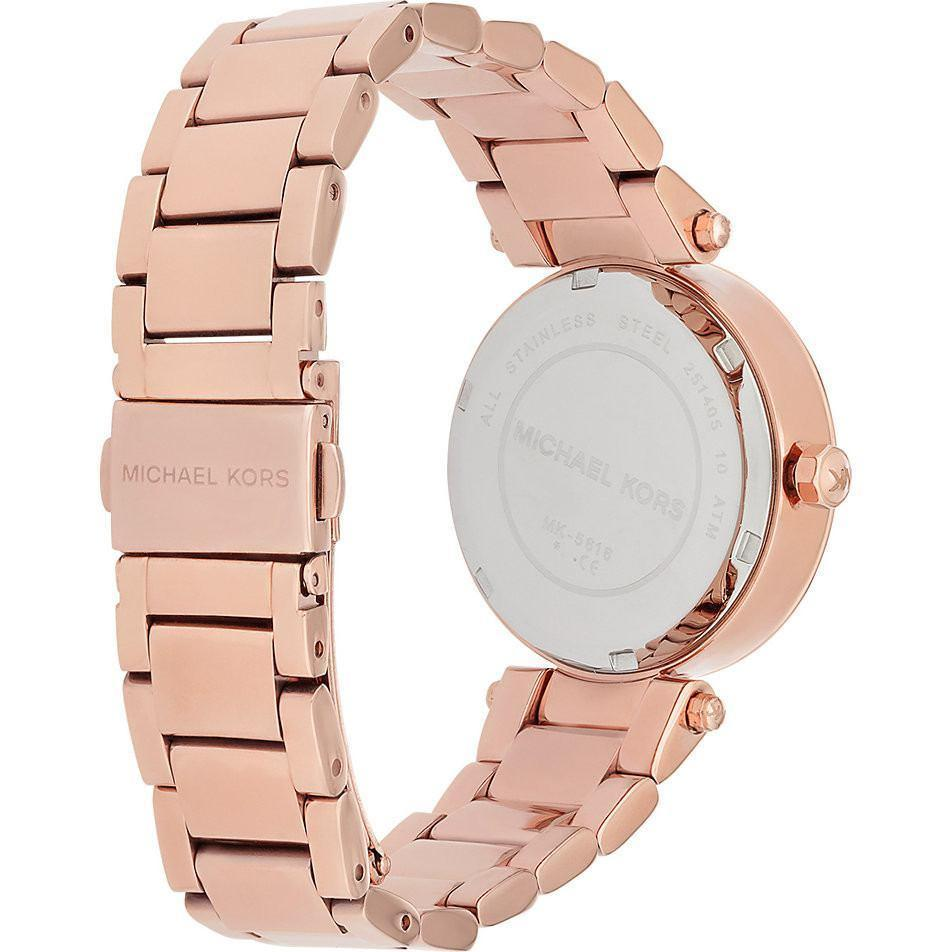 Michael Kors MK5616 Ladies Mini Parker Chronograph Watch - TheWatchCabin - 2