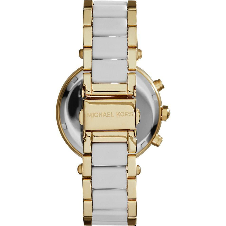 Michael Kors MK6119 Ladies Parker Chronograph Watch - TheWatchCabin - 3