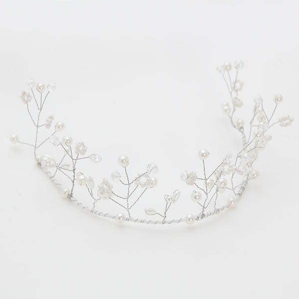 Bridal crystal tiara