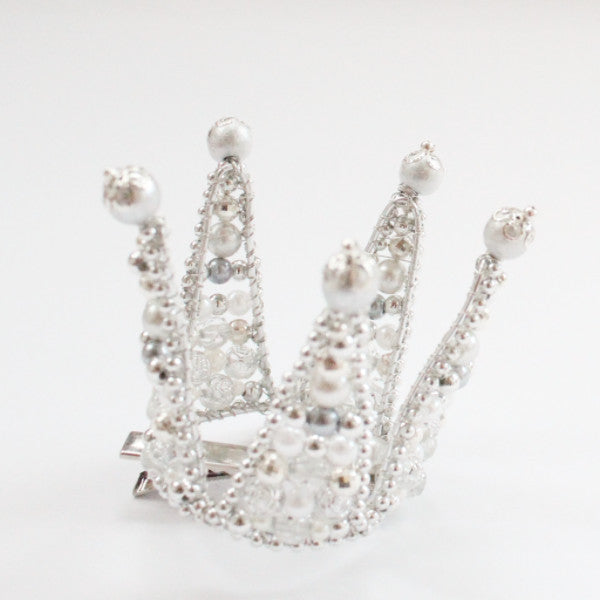 Small silver crown for kids