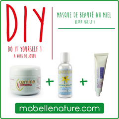 DIY do it yourself masque miel cold cream oemine