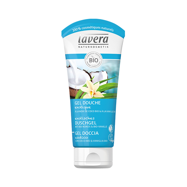 Gel Douche exotique Coconut Dream lavera