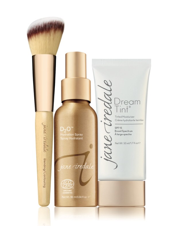Pack Dream Tint + spray + Blending/Contouring brush | Jane Iredale - Ma Belle Nature