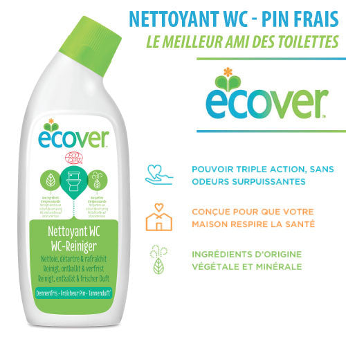 Nettoyant WC - Pin frais (Ecover - 750ml)