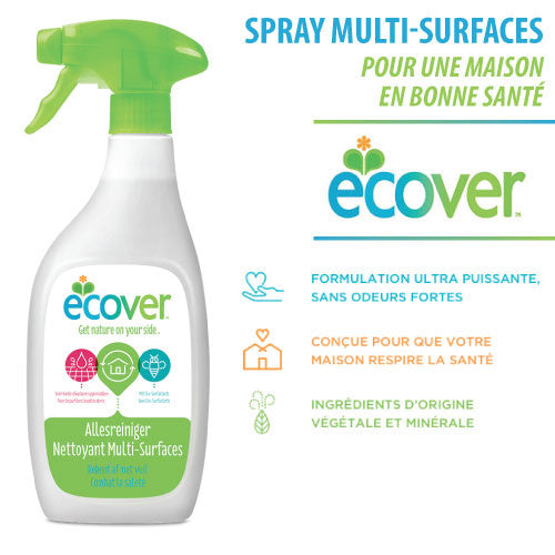 Spray multi-surfaces (Ecover - 500ml) - Ma Belle Nature
