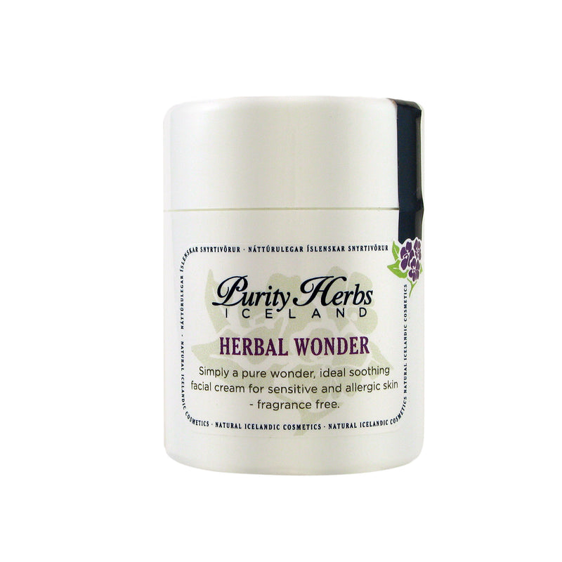 Crème apaisante - Herbal Wonder 50 ml (Purity Herbs Island) - Ma Belle Nature