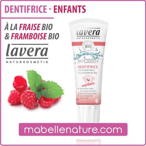 Dentifrice - Enfants (Lavera, 75ml) - Ma Belle Nature