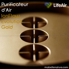 Purificateur d'air Ionflow evolution Gold LifeAir