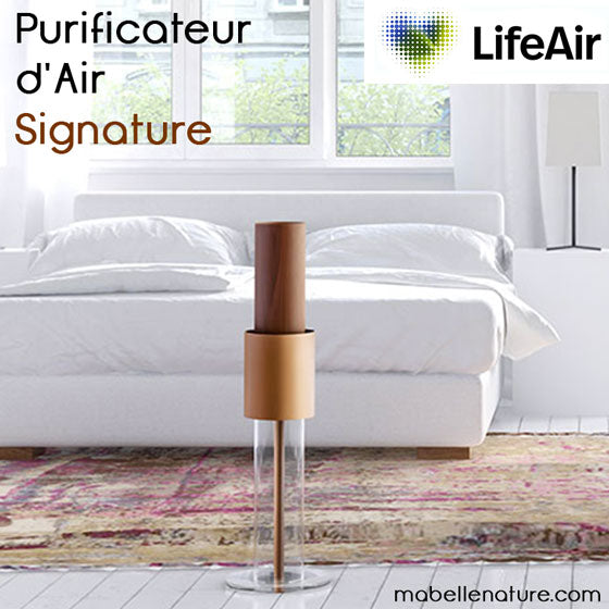 LifeAir Signature - Purificateur d'air imitation bois - Ma Belle Nature