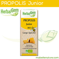 Propolis Junior Bio (Herbalgem) - Ma Belle Nature