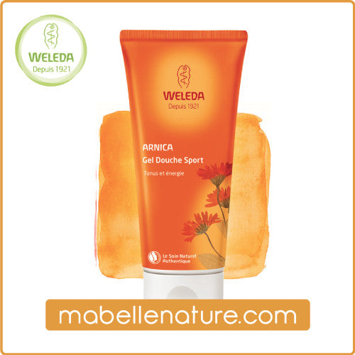 Gel Douche Sport à l'Arnica - Weleda (200 ml) - Ma Belle Nature