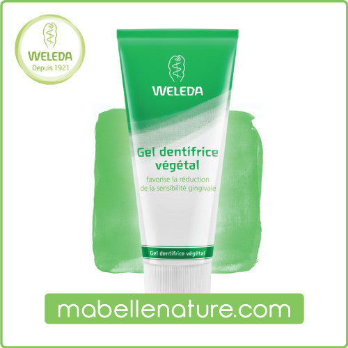 Dentifrice gel végétal - Weleda (Bio, 75ml) - Ma Belle Nature