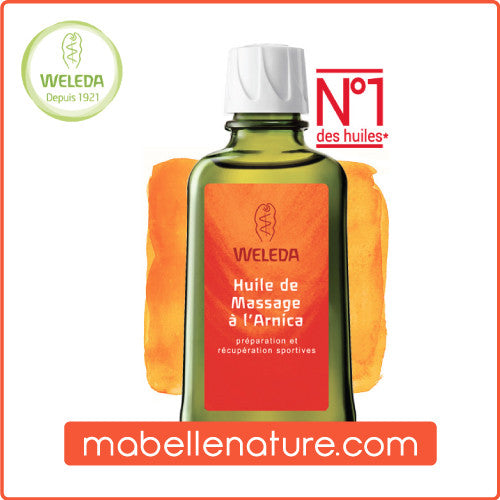 Huile de Massage à l'Arnica - Weleda (100ml) - Ma Belle Nature
