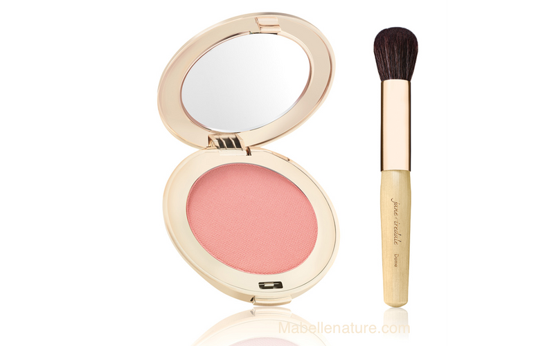 Kit PUREPRESSED Fard à Joues (Blush) + Pinceau Dome - Ma Belle Nature