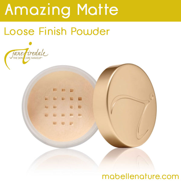 Amazing Matte - Poudre de finition libre Jane Iredale - Ma Belle Nature