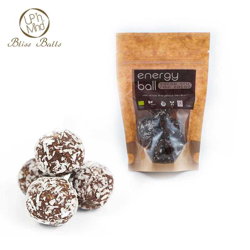 Energy Bliss Balls BIO | Cacao Cru - Ma Belle Nature