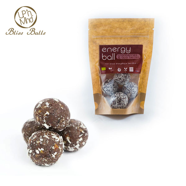 Energy Bliss Balls BIO | Cranberries & Acaï Berries - Ma Belle Nature