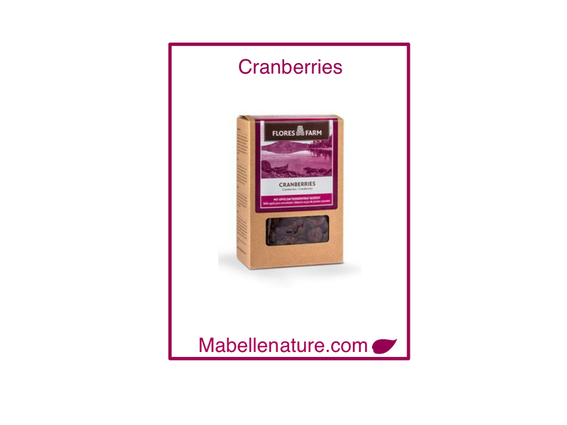 Flores Farm | Cranberries Bio -100g - Ma Belle Nature