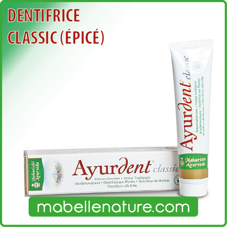 Dentifrice Ayurdent Classic (75 ml) - Ma Belle Nature
