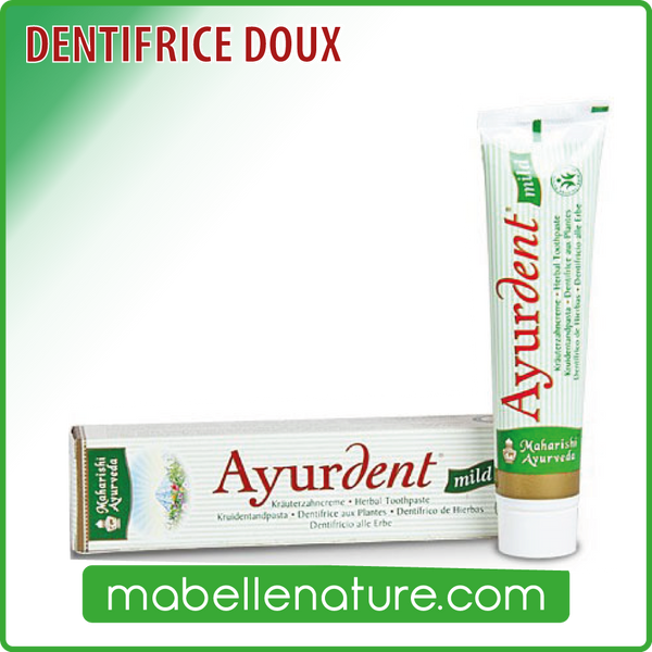 Dentifrice Ayurdent Doux (75 ml) - Ma Belle Nature