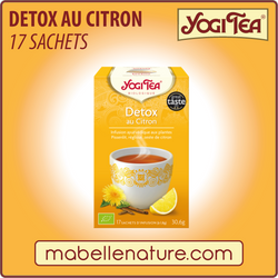 Detox au citron - Yogi Tea - Ma Belle Nature