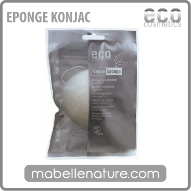 Eponge Konjac (Eco-Cosmetics) - Ma Belle Nature