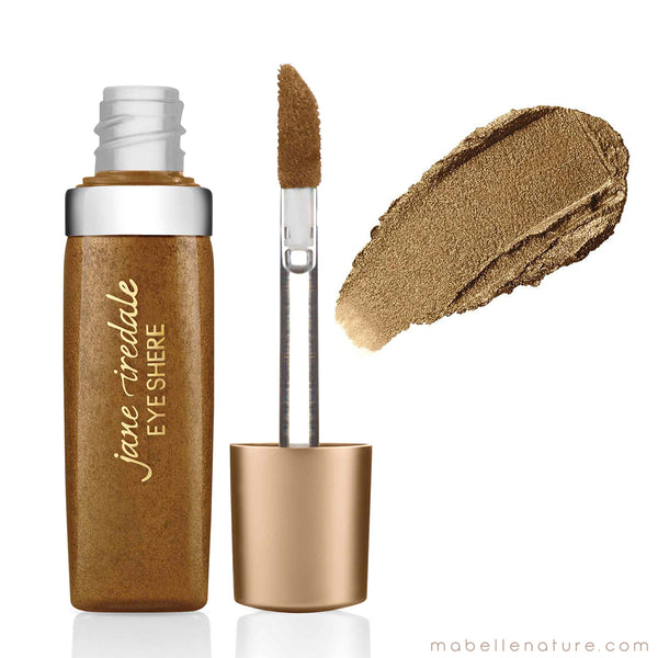 Eye Shere Liquid Eye Shadow Jane Iredale brown silk