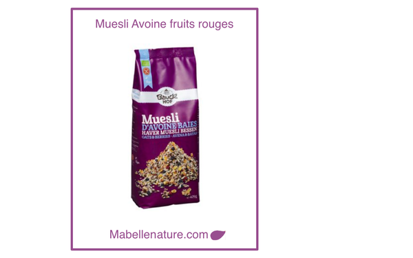 Bauckhof| Muesli aux fruits rouges 425g - Ma Belle Nature