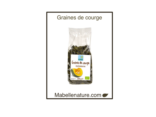 Pural | Graines de courge Bio -200g - Ma Belle Nature