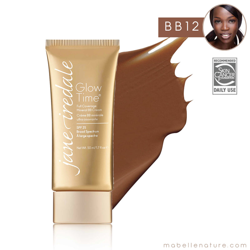 glow time bb cream jane iredale bb12