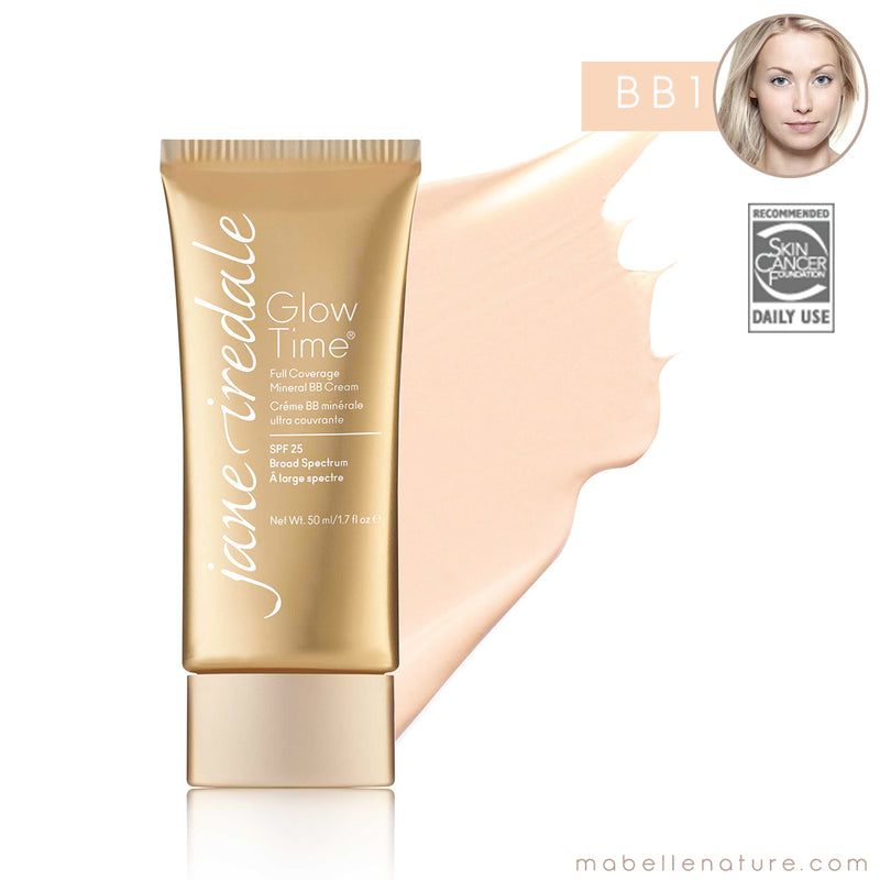 glow time bb cream jane iredale bb1