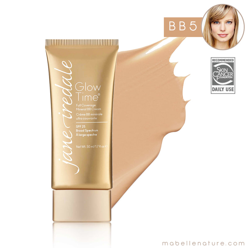 glow time bb cream jane iredale bb5