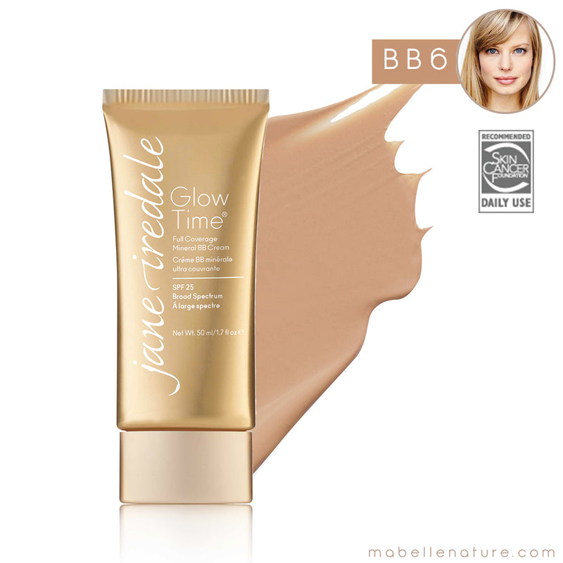 glow time bb cream jane iredale bb6