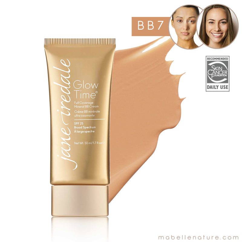 glow time bb cream jane iredale bb7
