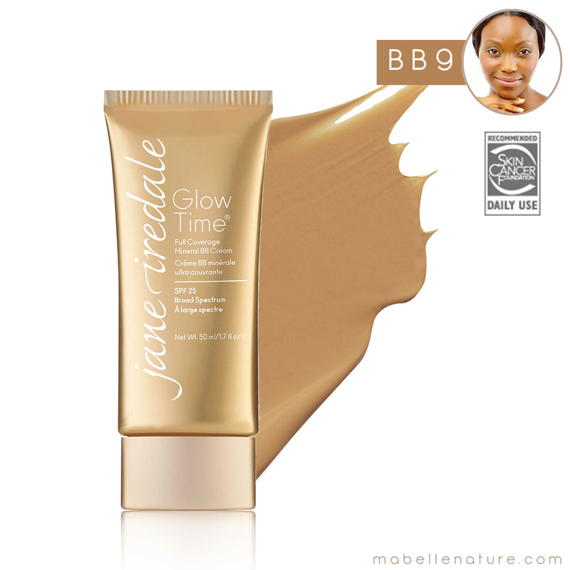 glow time bb cream jane iredale bb9